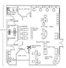 beauty salon floorplans
