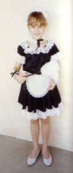 child maid costume