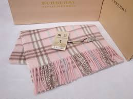 pink burberry scarves