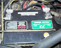 car battery posts