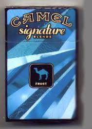 camel cigarette flavors