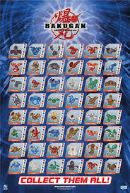all the bakugan in the world