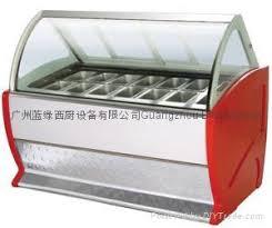 ice cream display case