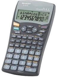 calculator sharp