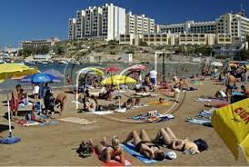 beaches malta