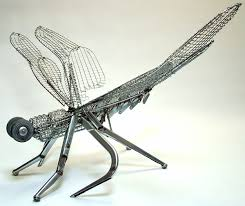 dragonfly sculptures