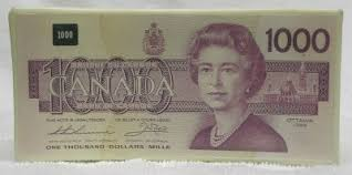 $1000 canadian bill