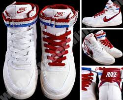 nike shoe lacing