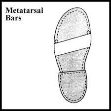 metatarsal footwear