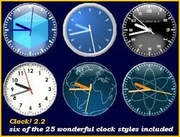 desk top clocks