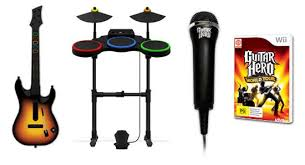 guitar hero world tour drums kit