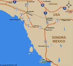 san carlos mexico maps