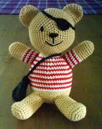 crocheted teddy bears