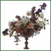 victorian flower arrangement