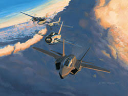 military aviation art
