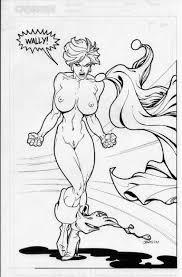 power girl art