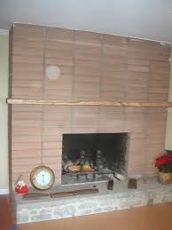 covering brick fireplaces