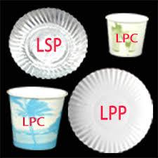 paper cups and plates