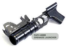 40mm launchers