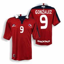 chile football kit
