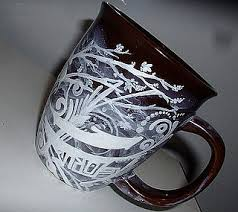hand painted coffee mugs