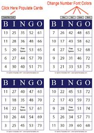 bingo templates