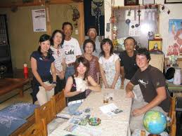 japanese host family