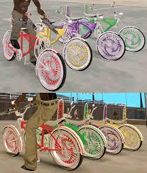 custom lowrider bicycle