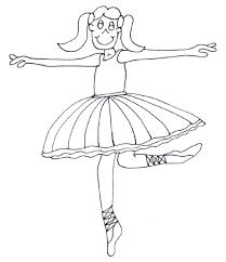 coloring ballerina