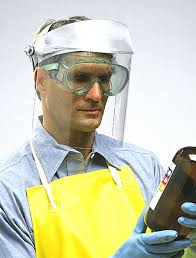 chemical face shield