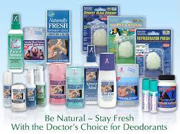 deodorant crystals