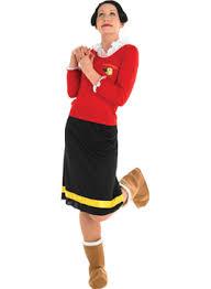 popeye and olive oyl costume