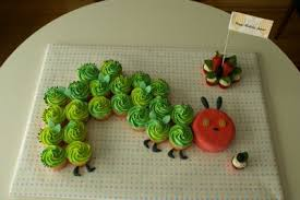 caterpillar birthday cake