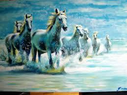 horses paintings
