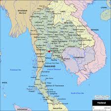 atlas of thailand