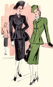 1940 clothing styles
