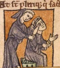 medieval monk pictures