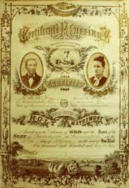 old marriage certificates