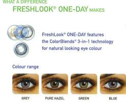 fresh look one day color