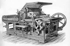 litho printing machine