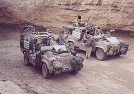 land rover military vehicles