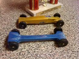fast pinewood derby car