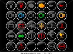 car dashboard warning symbols