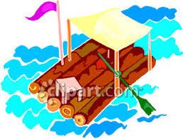 pontoon boat clip art