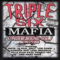 Three 6 Mafia - Underground, Volume 1