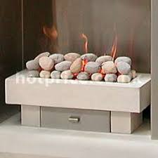 contemporary gas fire