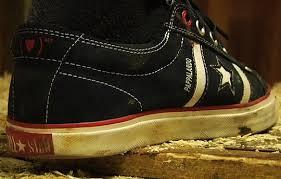 red skateboarding