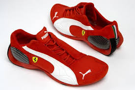 red puma ferrari shoes