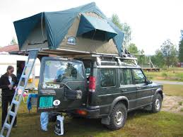 land rover tents
