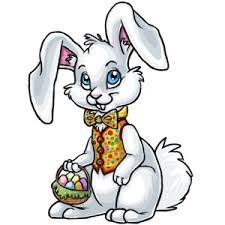 clip art of easter bunny